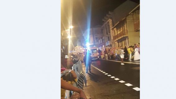 Accident Carnaval Basse-Terre