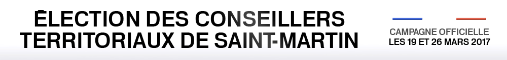 Elections territoriales 2017 Saint-Martin - campagne officielle radio