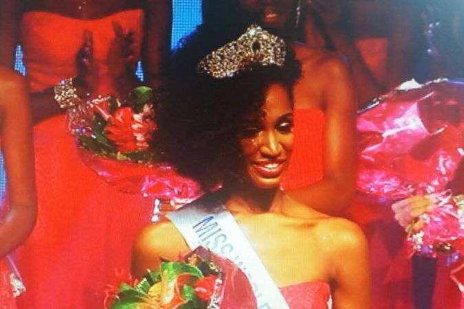 Magalie Adelson Miss Guadeloupe Internationale