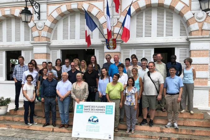 L'association internationale Initiatives pour l'Avenir des Grands Fleuves en Guyane