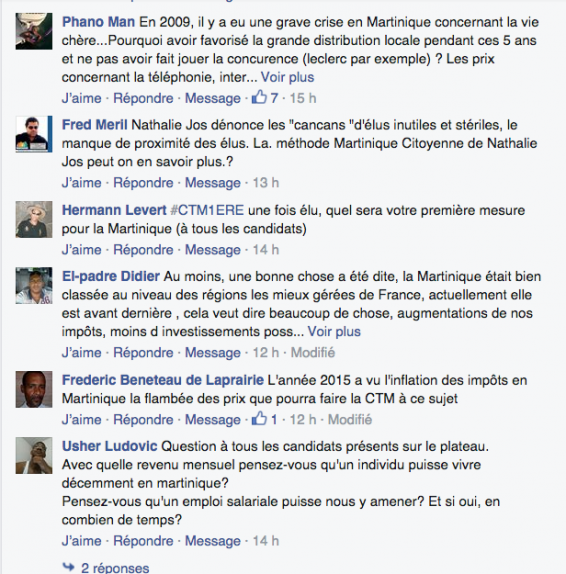 Facebook Martinique 1ère