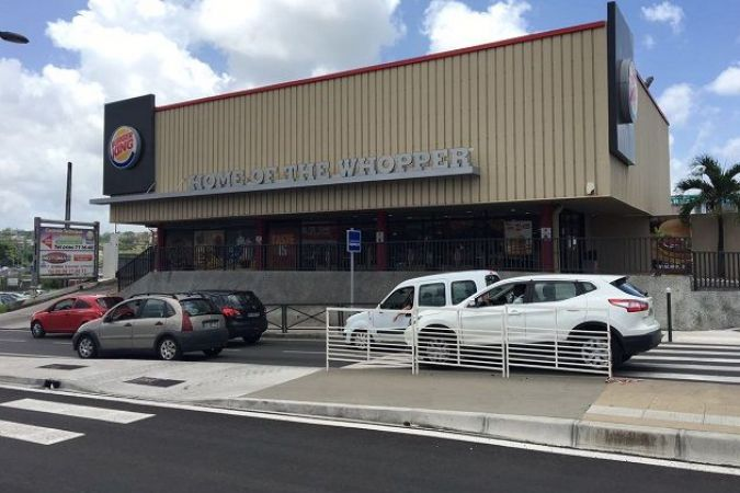 Burger King à Sainte-Thérèse