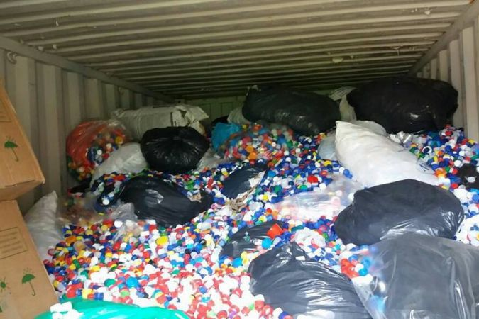 container bouchons