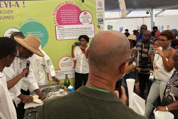 Stand Pôle agroalimentaire