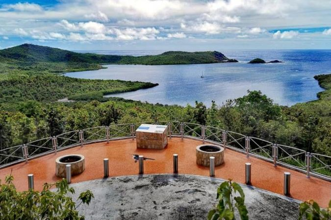 Image du point de vue de Morne-Pavillon à Trinité