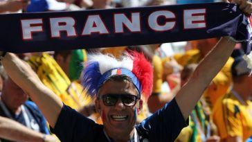 Supporter équipe de France