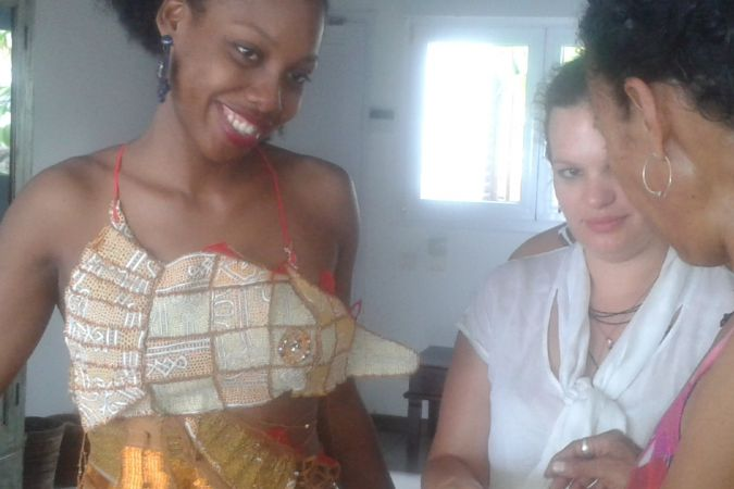 robe traditionnelle miss mayotte