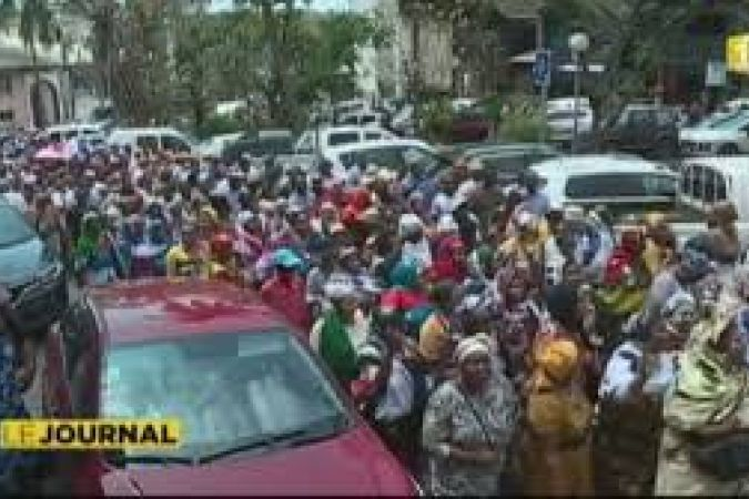 Foule Mayotte