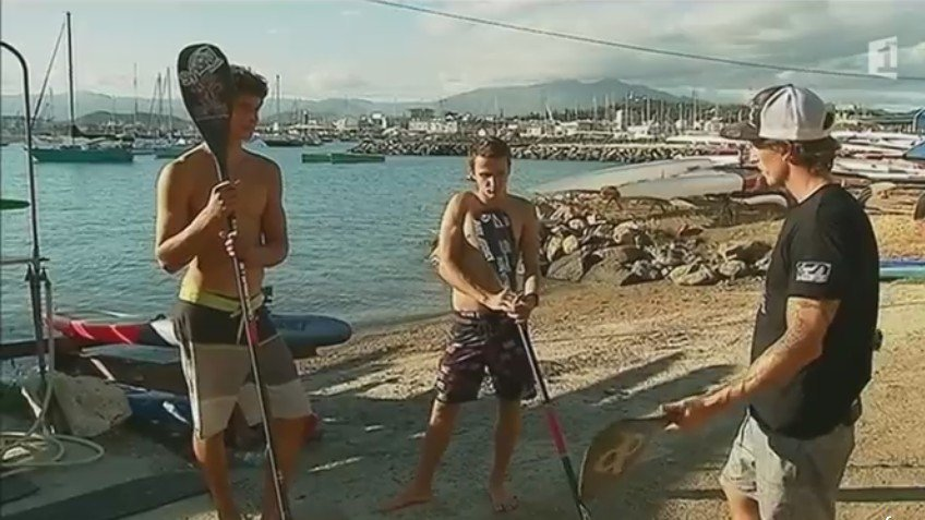 Le stand up paddle calédonien
