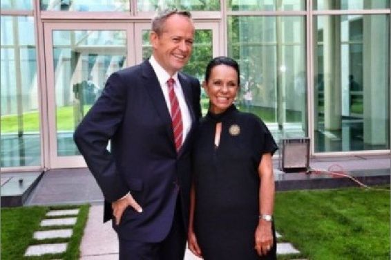 Linda Burney et Bill Shorten