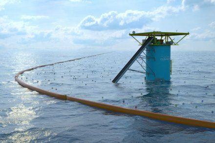 Dessin du prototype final. (Photo : Supplied / The Ocean Cleanup)