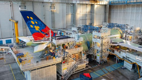 Airbus A330 Néo assemblage Toulouse