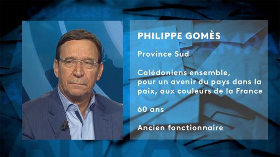 Fiche candidat Philippe Gomès