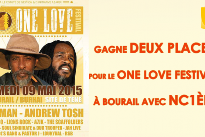 One love festival BOURAIL