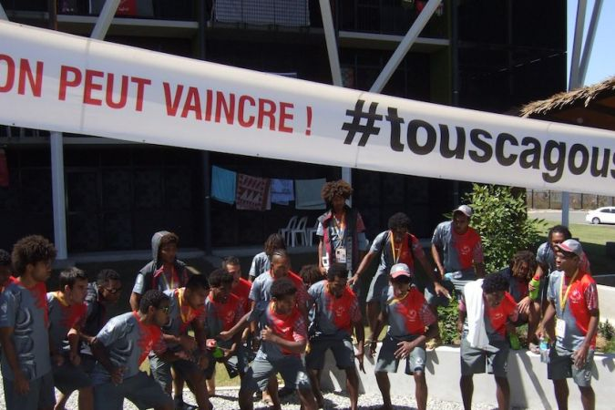 Joueurs football Port-Moresby 02072015