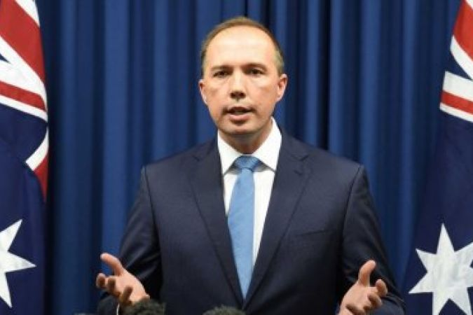 Peter Dutton, le ministre australien de l'Immigration.