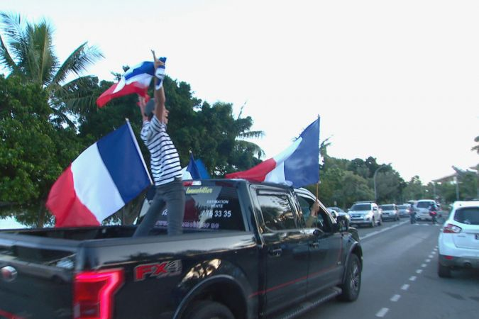 Foot demi finale supporters France