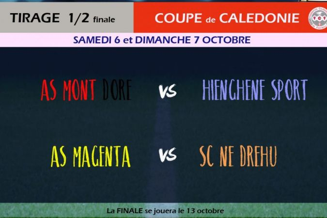 Football Demi finales coupe de Calédonie