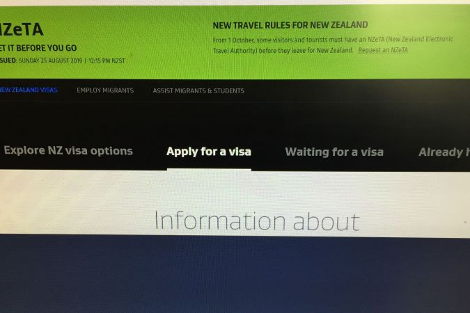 site immigration NZ