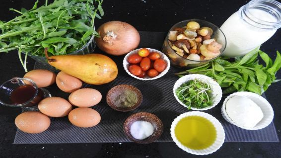 ingredients frittata