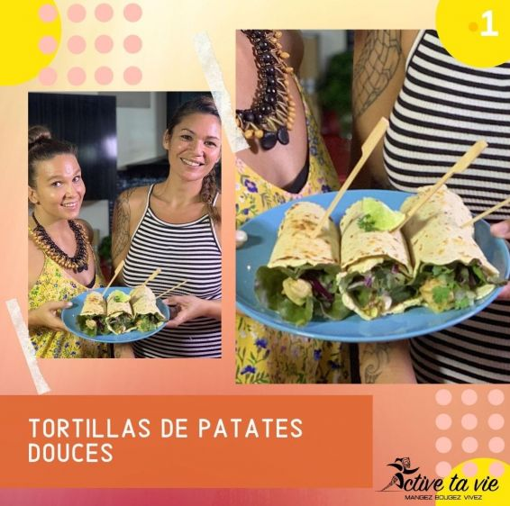 Active ta vie 22 - Tortillas de patate douce