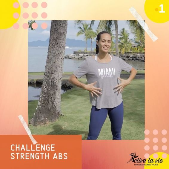 Active ta vie 22 - chalLenge strength abs