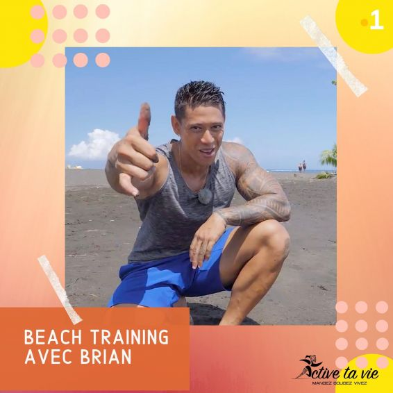 Active ta vie #27- le beach training avec Brian