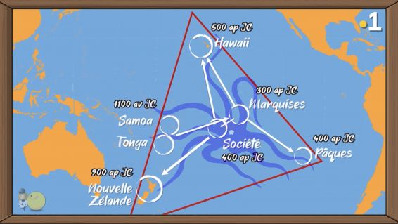 pirogue a voile polynesienne migrations triangle polynesien