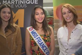 Miss France vaimalama chaves en martinique