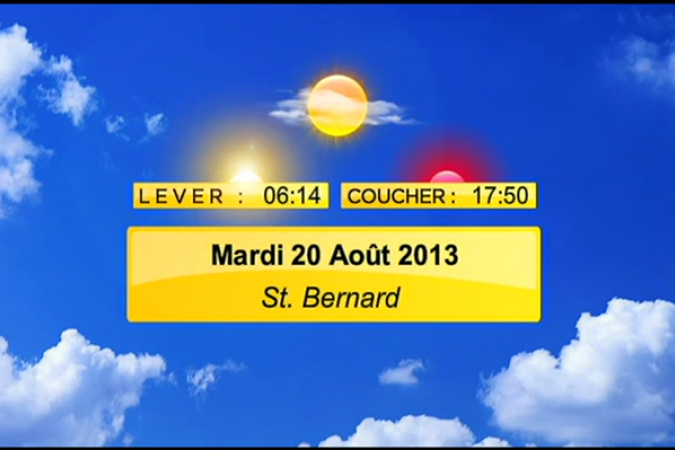 meteo 20 aout