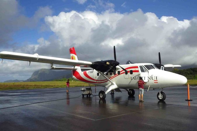 Twin otter Marquises