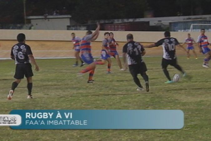 Rugby à XV : Faa'a imbattable