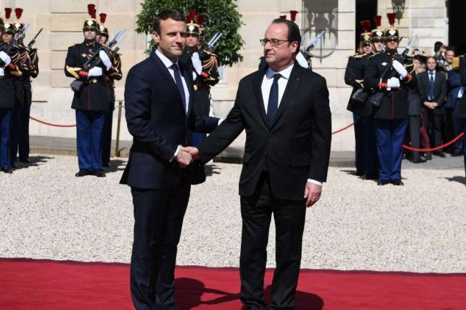 Investiture Macron / hollande