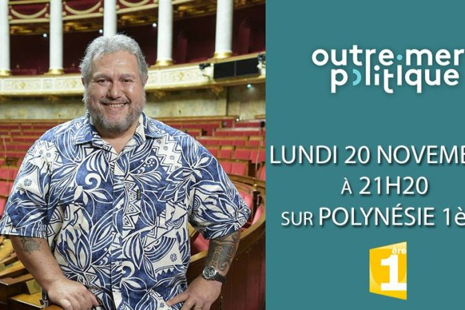 Outre mer politique - Moetai Brotherson 20/11/2017