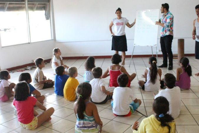 Ateliers immersion reo Tahiti