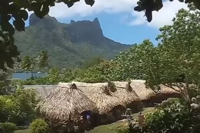 Village du tatouage à Moorea