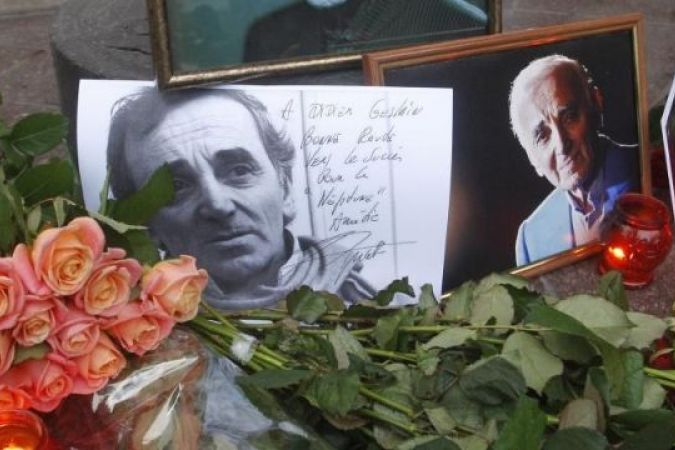 Hommage Charles Aznavour