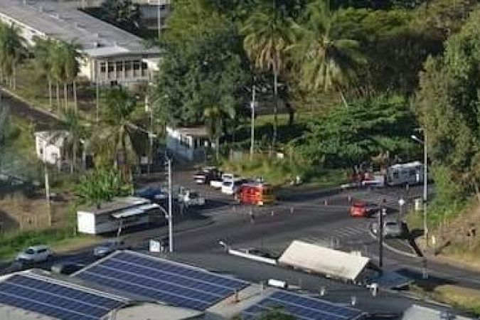 Accident Scooter Mahina