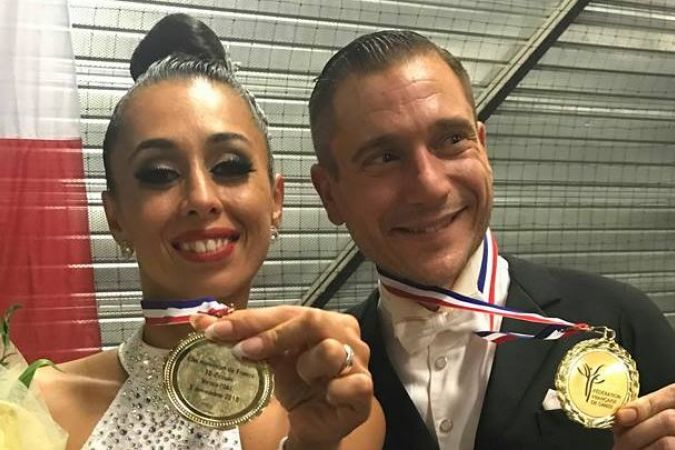 champions de France danse de salon