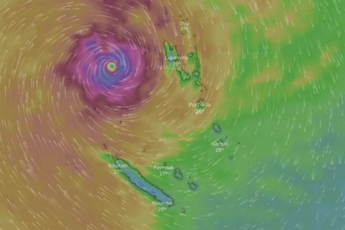 Cyclone Oma Nouvelle-Calédonie