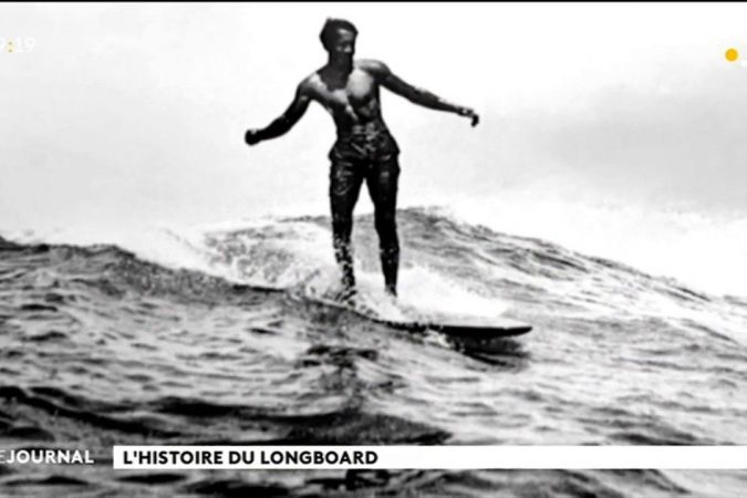 Le long-board, ancêtre du surf moderne…