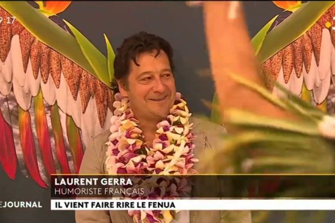 Laurent Gerra à To'ata vendredi