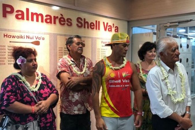 Inauguration musée Shell Va'a