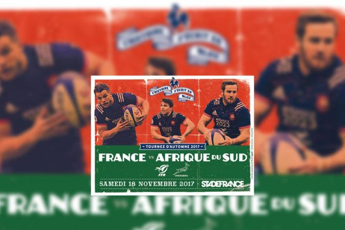 Rugby - Test Match : France vs Afrique du Sud - 18/11/2017