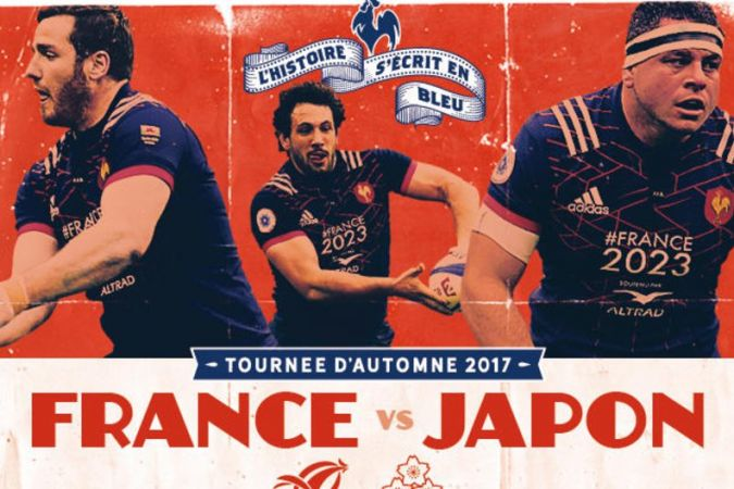 RUGBY Test-Match : France vs Japon
