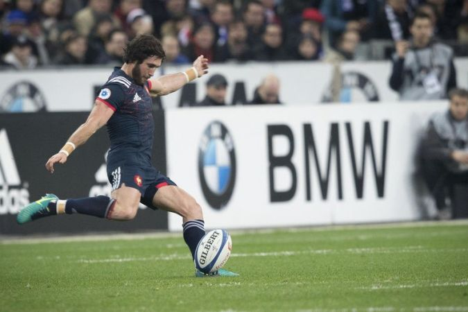 Rugby test match : France / Fidji