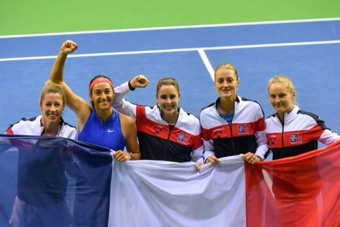 Fed Cup 2019- Demi-finale - France / Roumanie