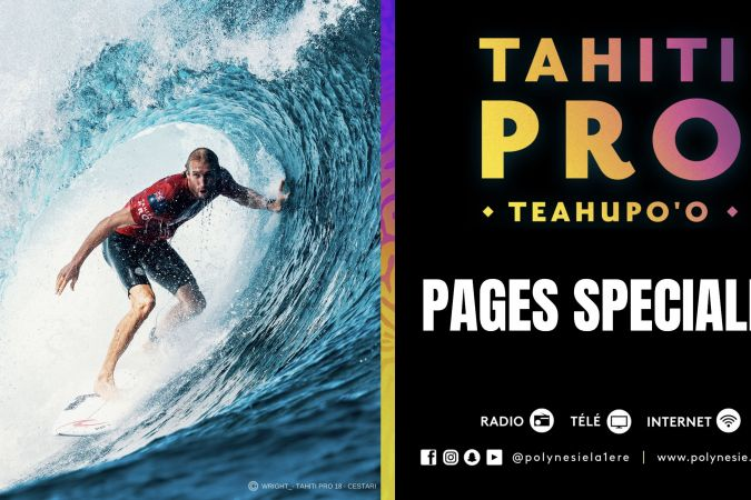 Tahiti Pro 2019 - Pages spéciales