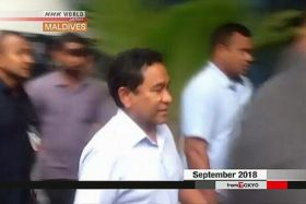 Arrestation d'Abdulla Yameen Maldives