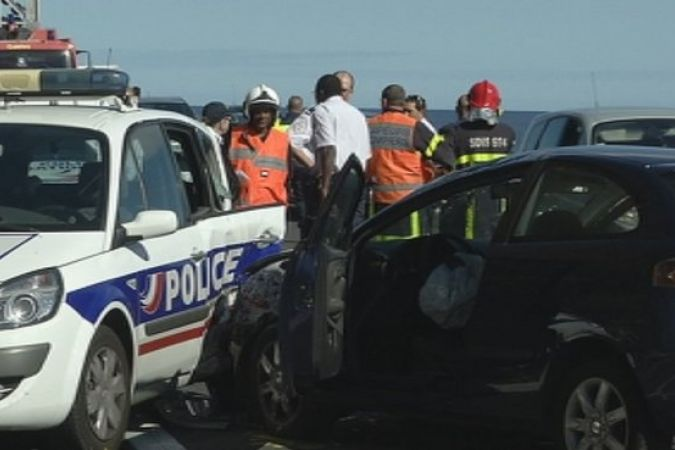 Accident route du littoral